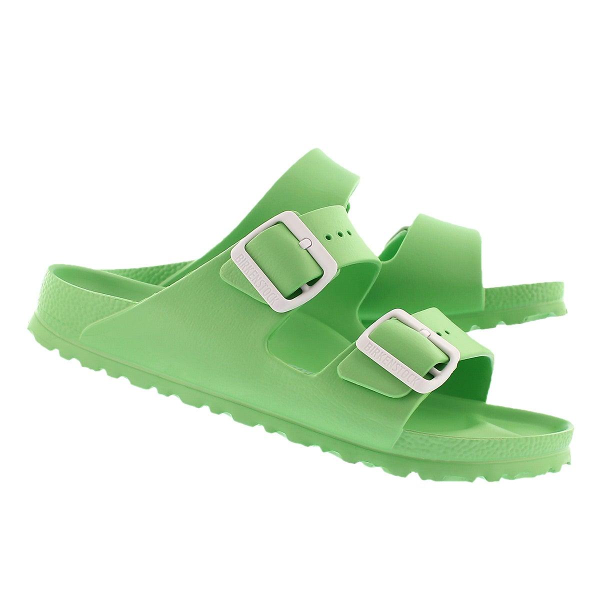 Sandale ARIZONA EVA, vert fl, fem-Étroit