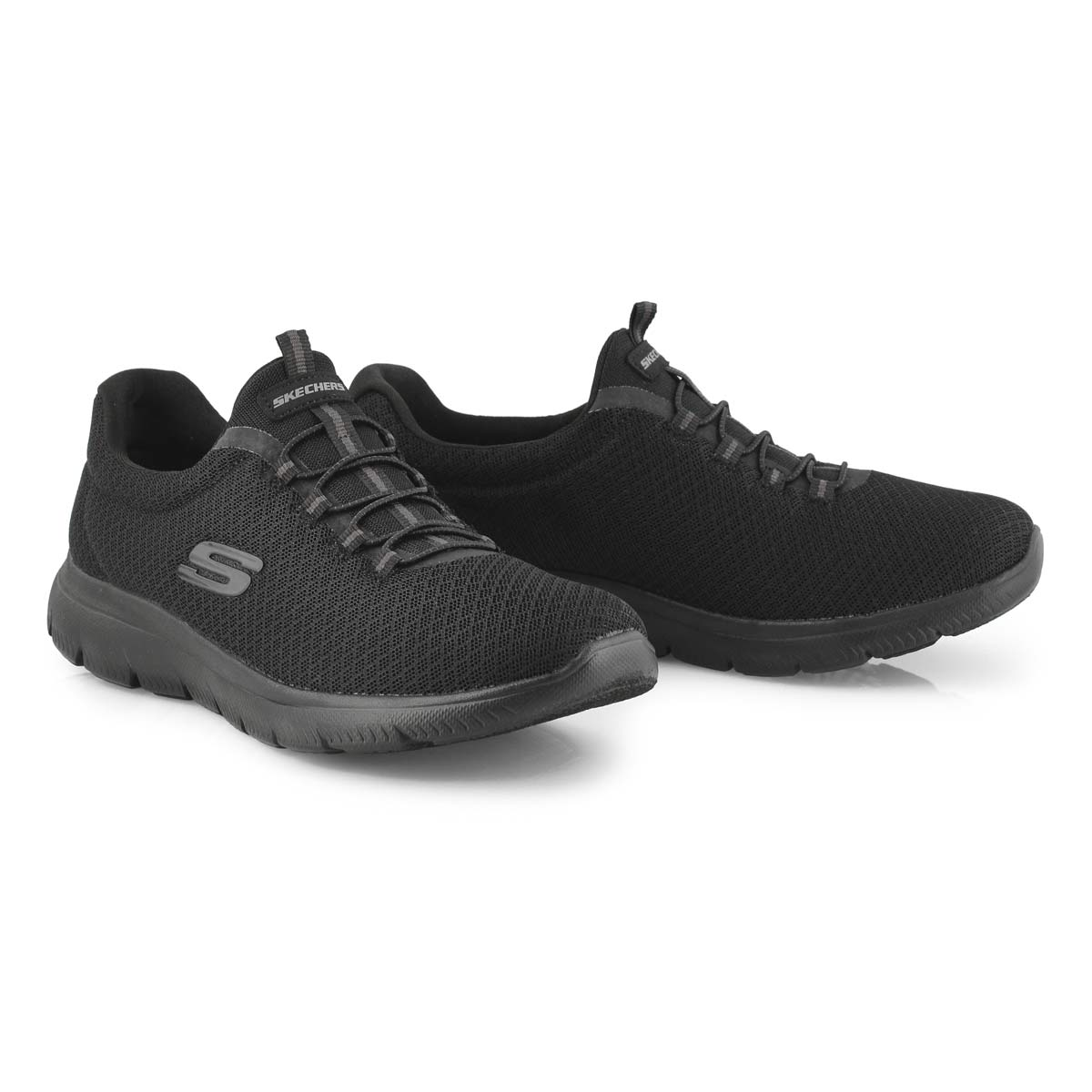 Lds Summits black slip on sneaker
