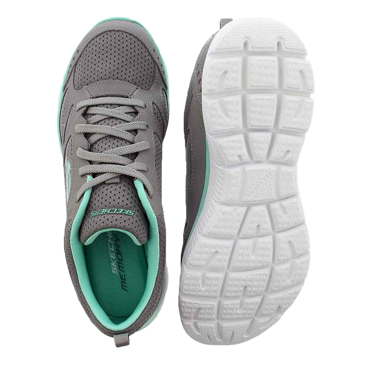 Lds Summits Suited gry/trq sneaker