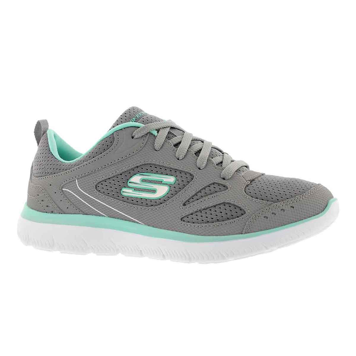 Women's SUMMIT SUITED grey/turquoise sneakers
