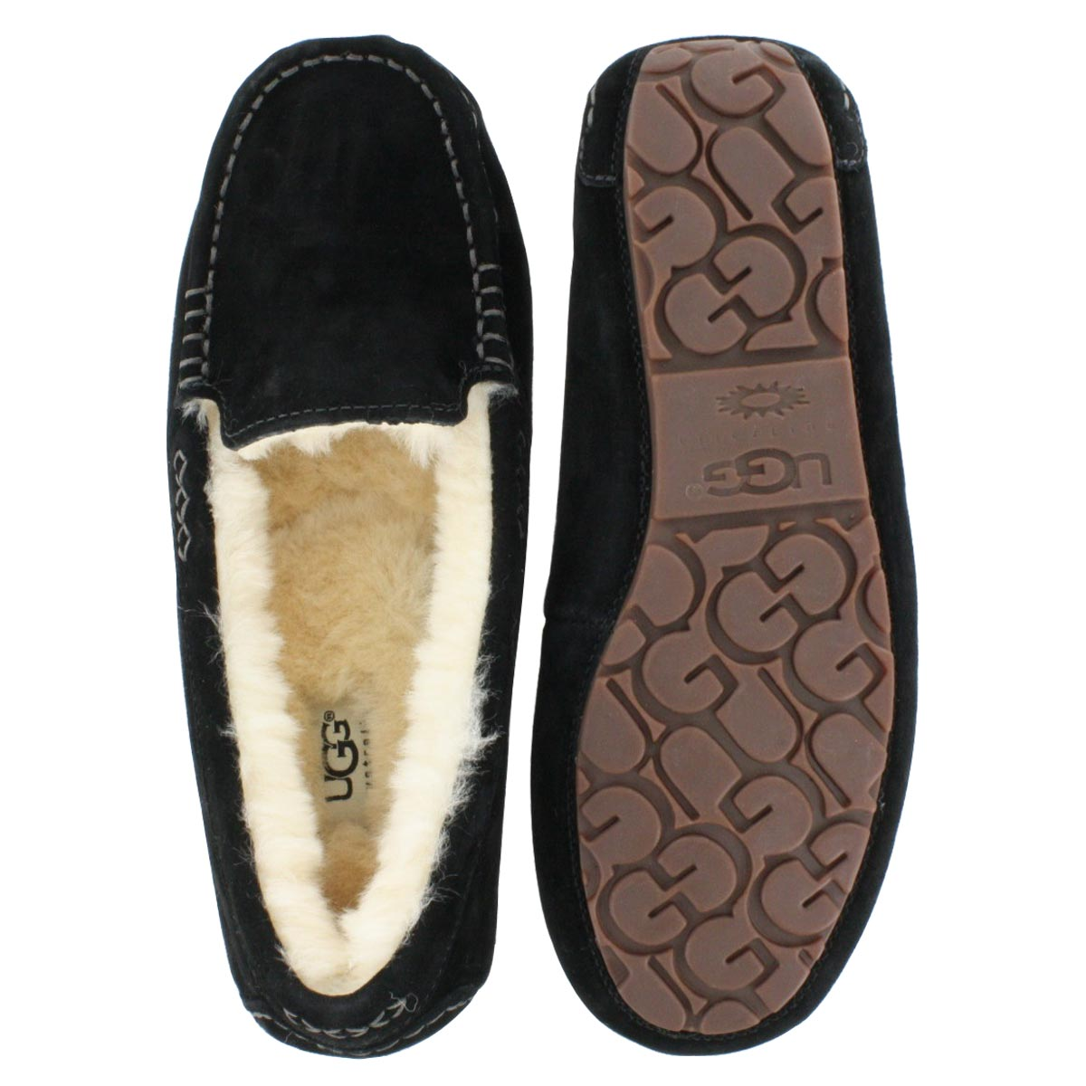 Lds Ansley black moccasin
