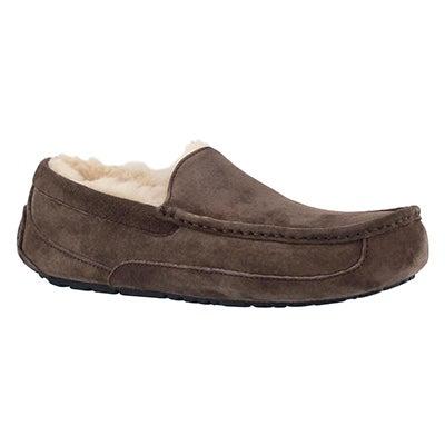 UGG Australia Mocassin en peau de mouton brun ASCOT, hommes