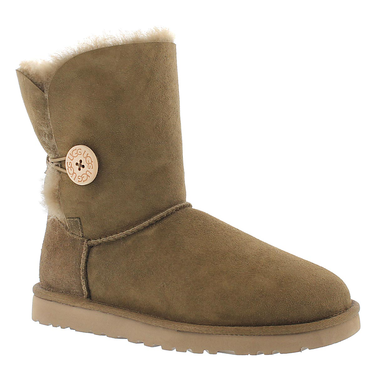 Botte peau mouton brun BAILEY BUTTON, fe