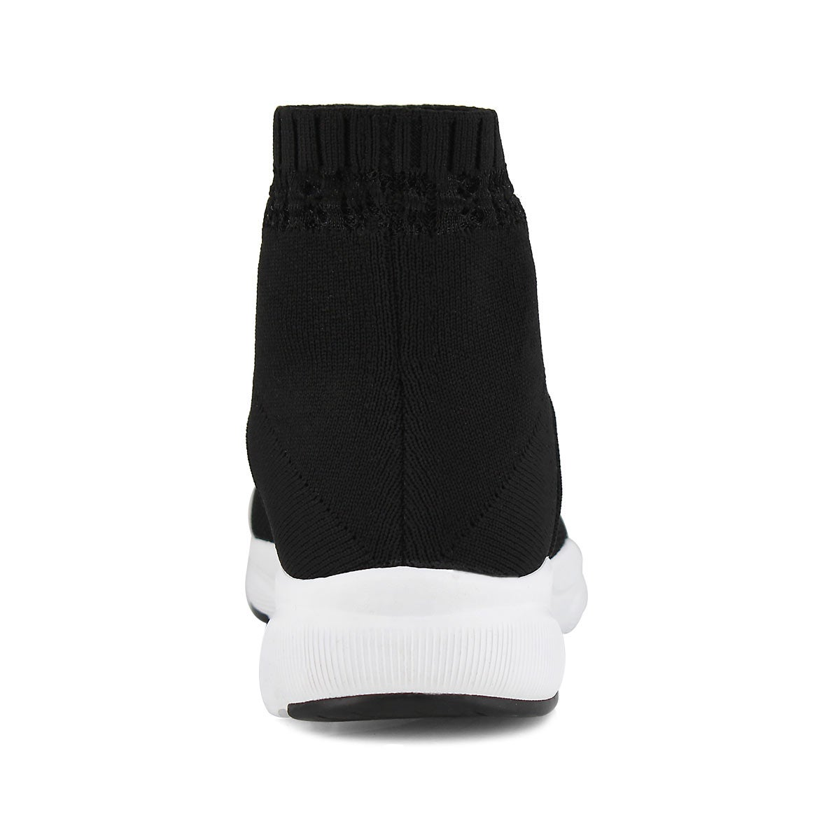 Lds Meridian On-The-Rise blk sock snkr