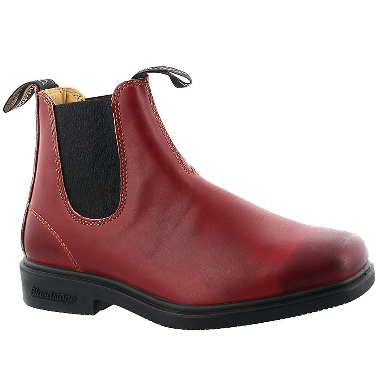 Unisex Chisel Toe burgundy twn gore boot