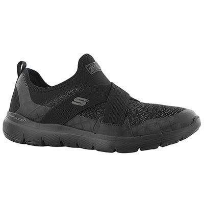 Lds Flex Appeal 3.0 Finest Hr blk slipon
