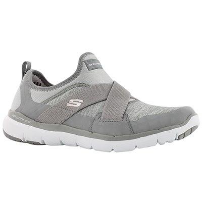 Lds Flex Appeal 3.0 grey slip on snkr