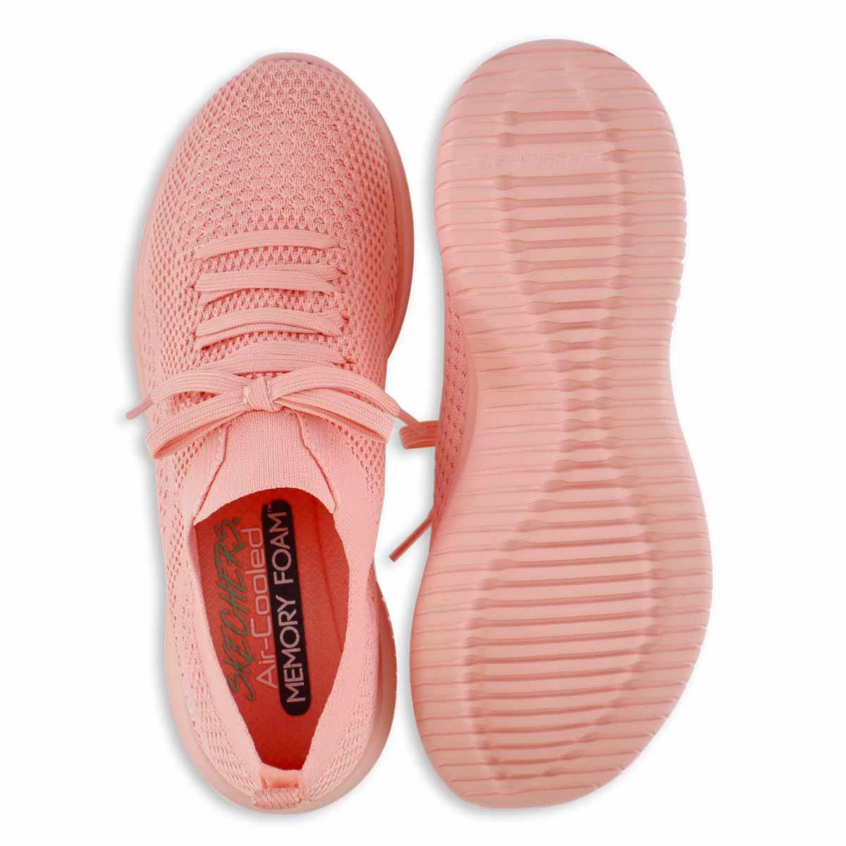 Lds Ultra Flex Pastel Party coral slipon