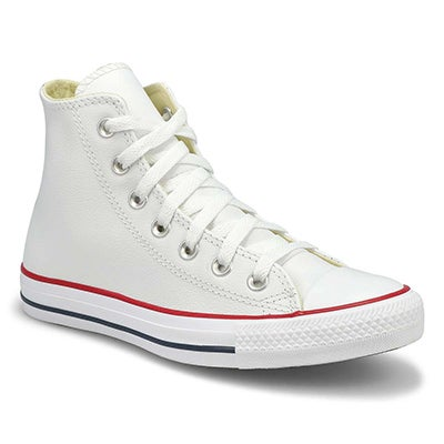 Mns CT All Star Leather white hi sneaker