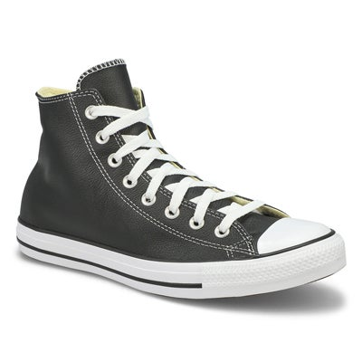 Converse Men's CT ALL STAR LEATHER black hi sneakers