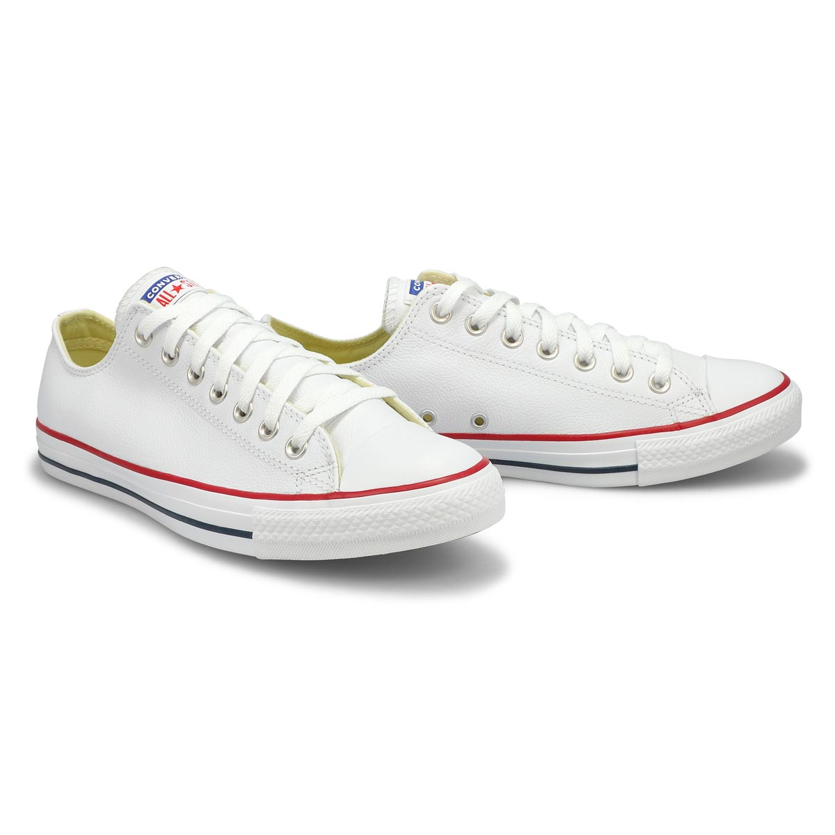 Mns CT All Star Leather Ox wht sneaker