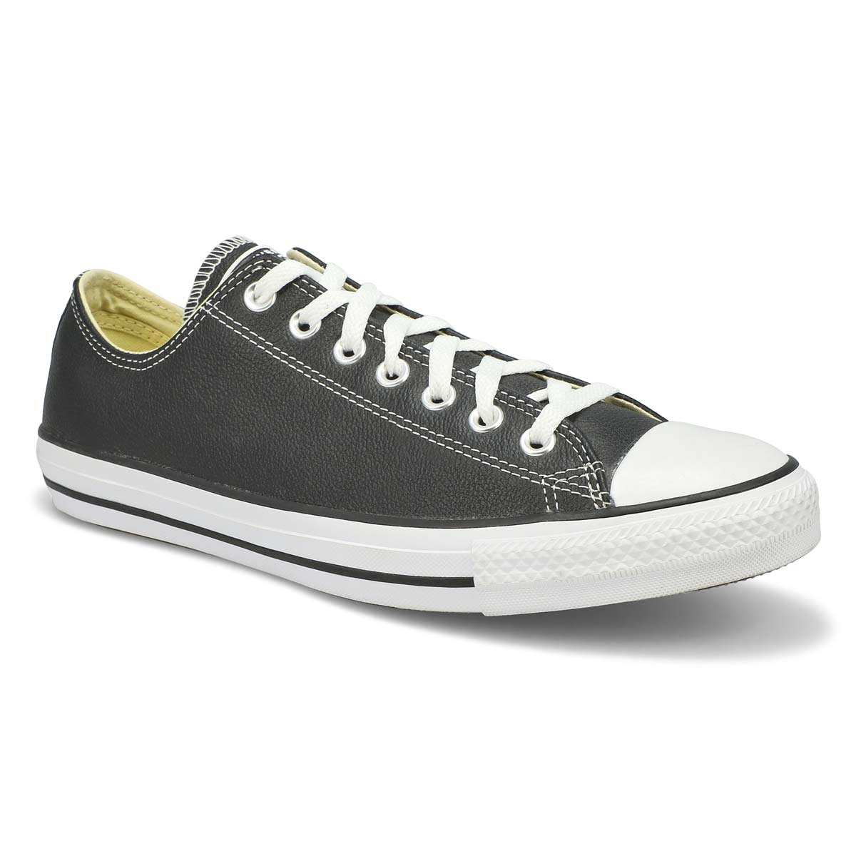 Mns CT All Star Leather black sneaker