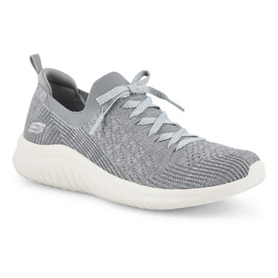 Lds Ultra Flex 2.0 gry slip on sneaker