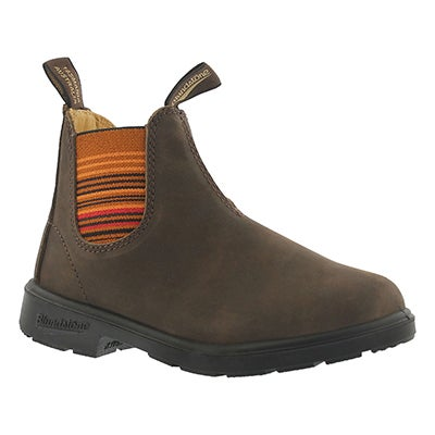 Blundstone Kids' BLUNNIES brown twin gore boots