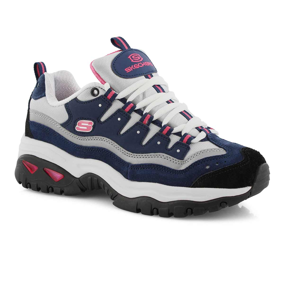 Lds Energy navy/hot pink sneaker