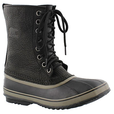 Sorel Men's 1964 PREMIUM T black winter boots