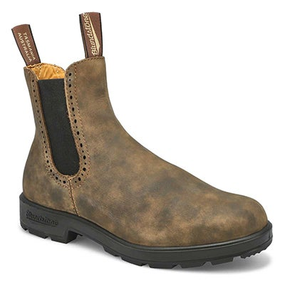 Blundstone Women's GIRLFRIEND rustic brown pull on boots