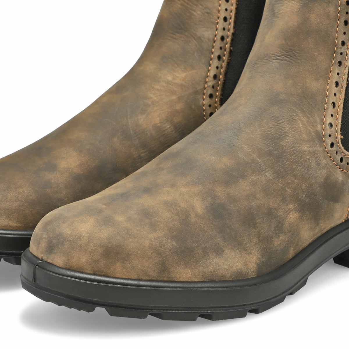 Lds Girlfriend rustic brown pull on boot