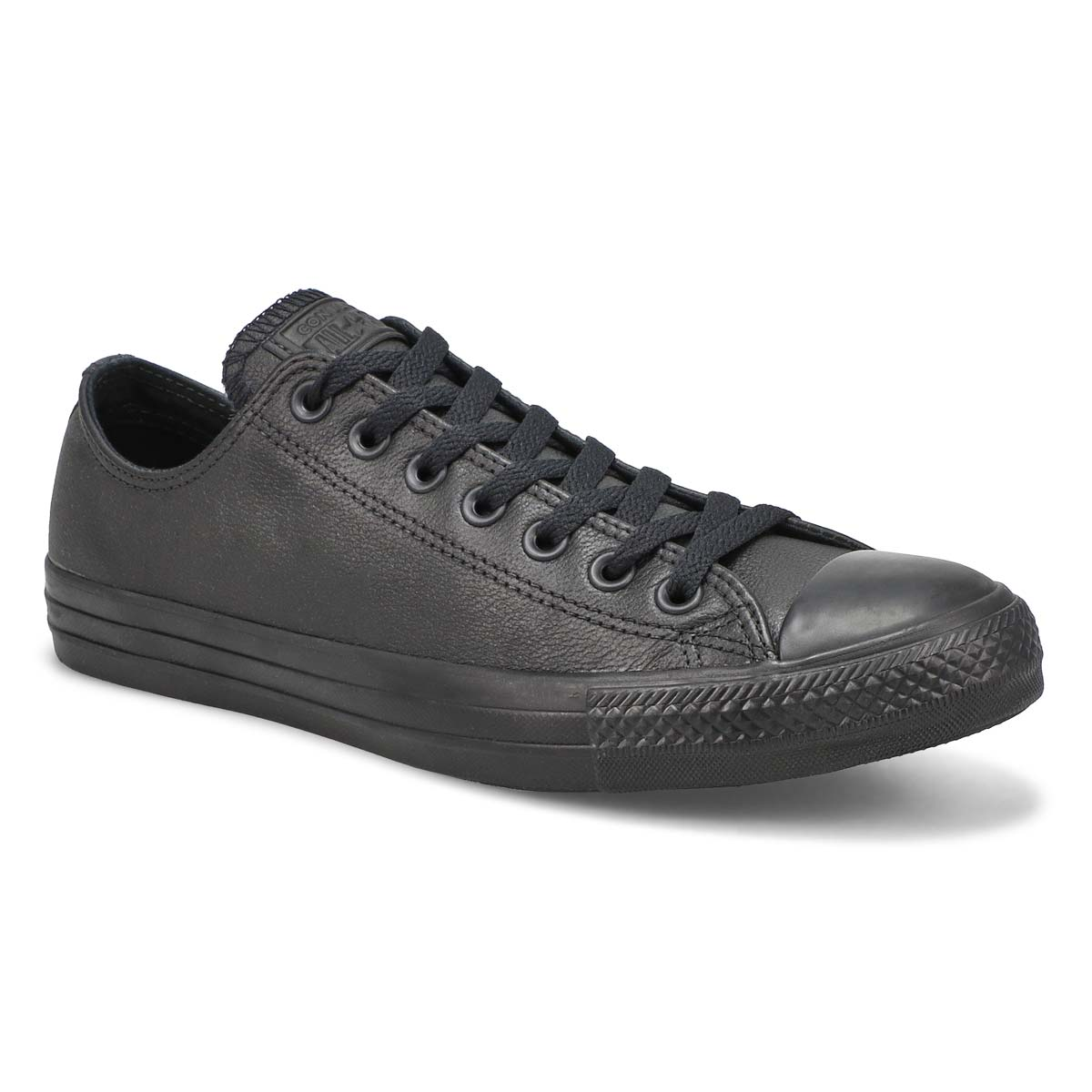 Mns CT All Star Leather blk mono sneaker