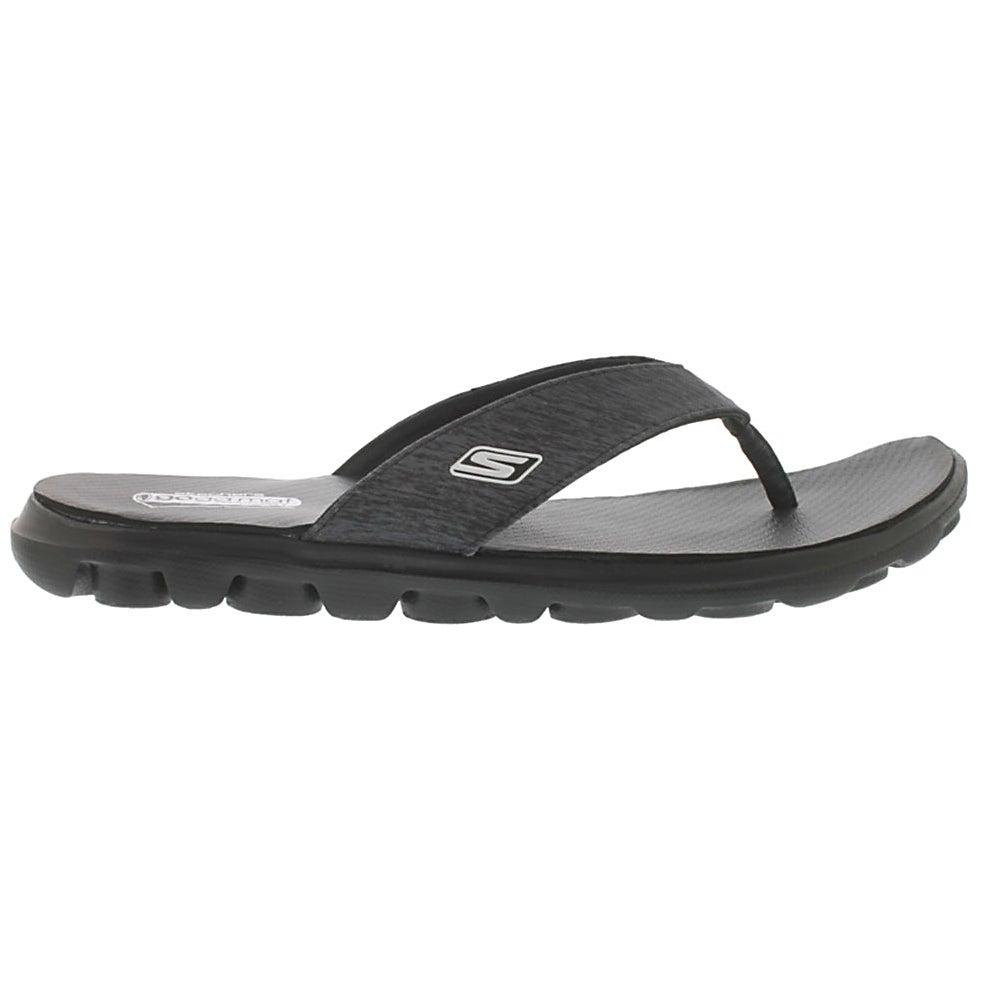 Sandale tong noir FLOW, fem