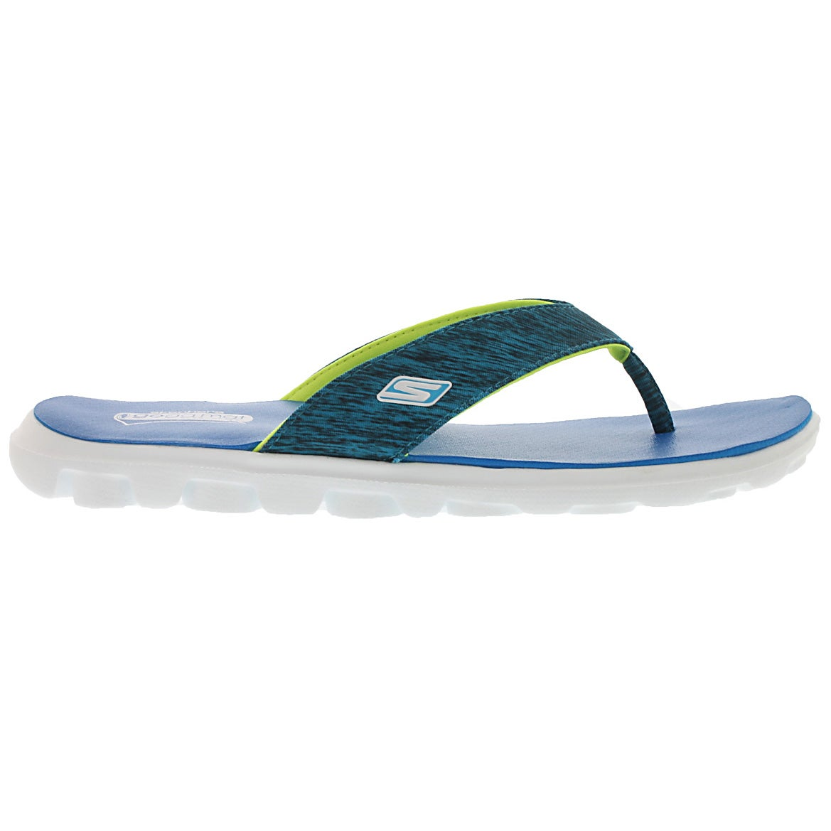 Lds Flow blue thong sandal