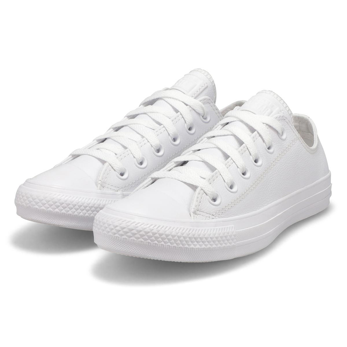 Espa. CT All Star Lthr Ox,blanc mono,fem