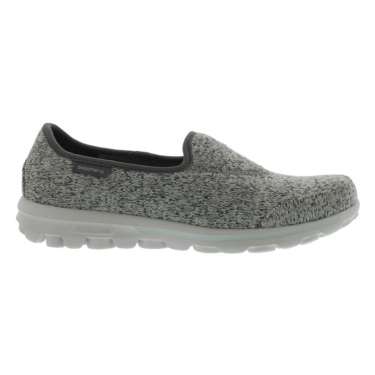 Lds GOwalkStitch gry lightweight slip on