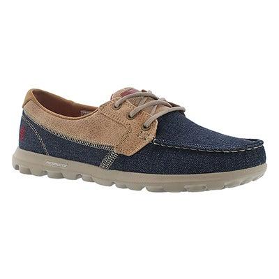 Chaussure bateau Embark, denim/tpe, fem