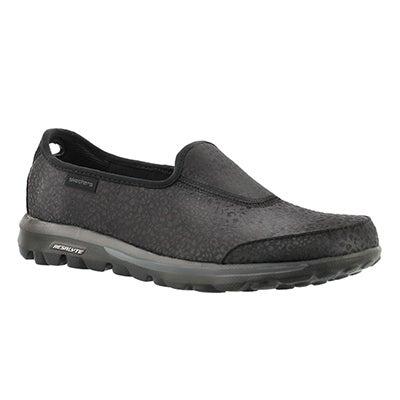 Skechers Flâneurs GOwalk - UNTAMED, noir, femmes