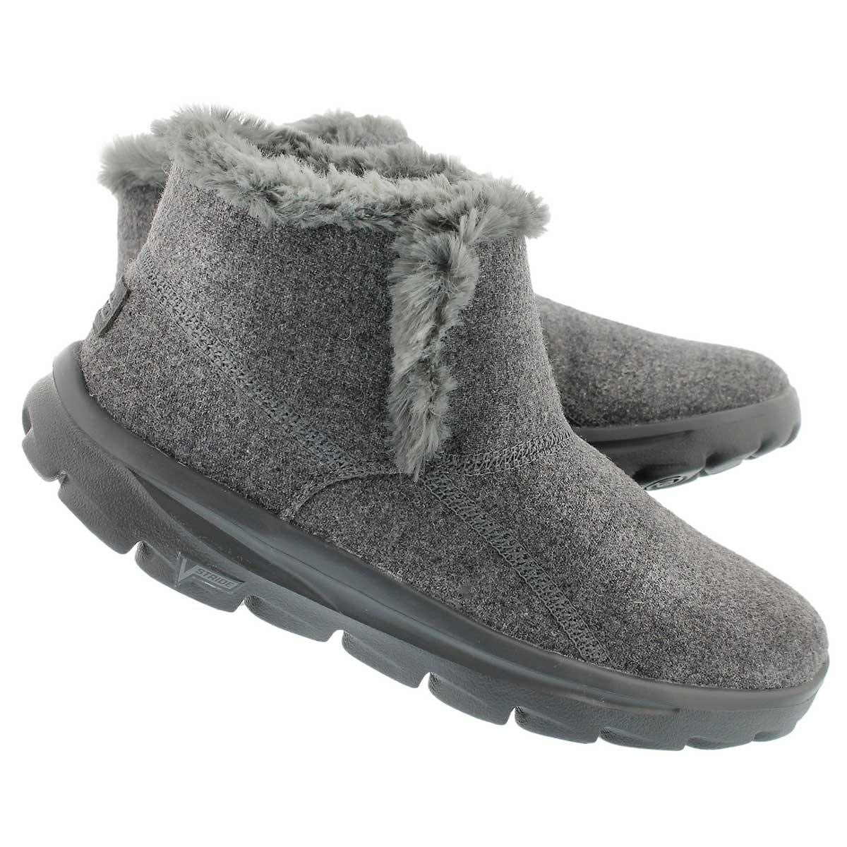 Lds GOwalk Move charcoal chugga bootie