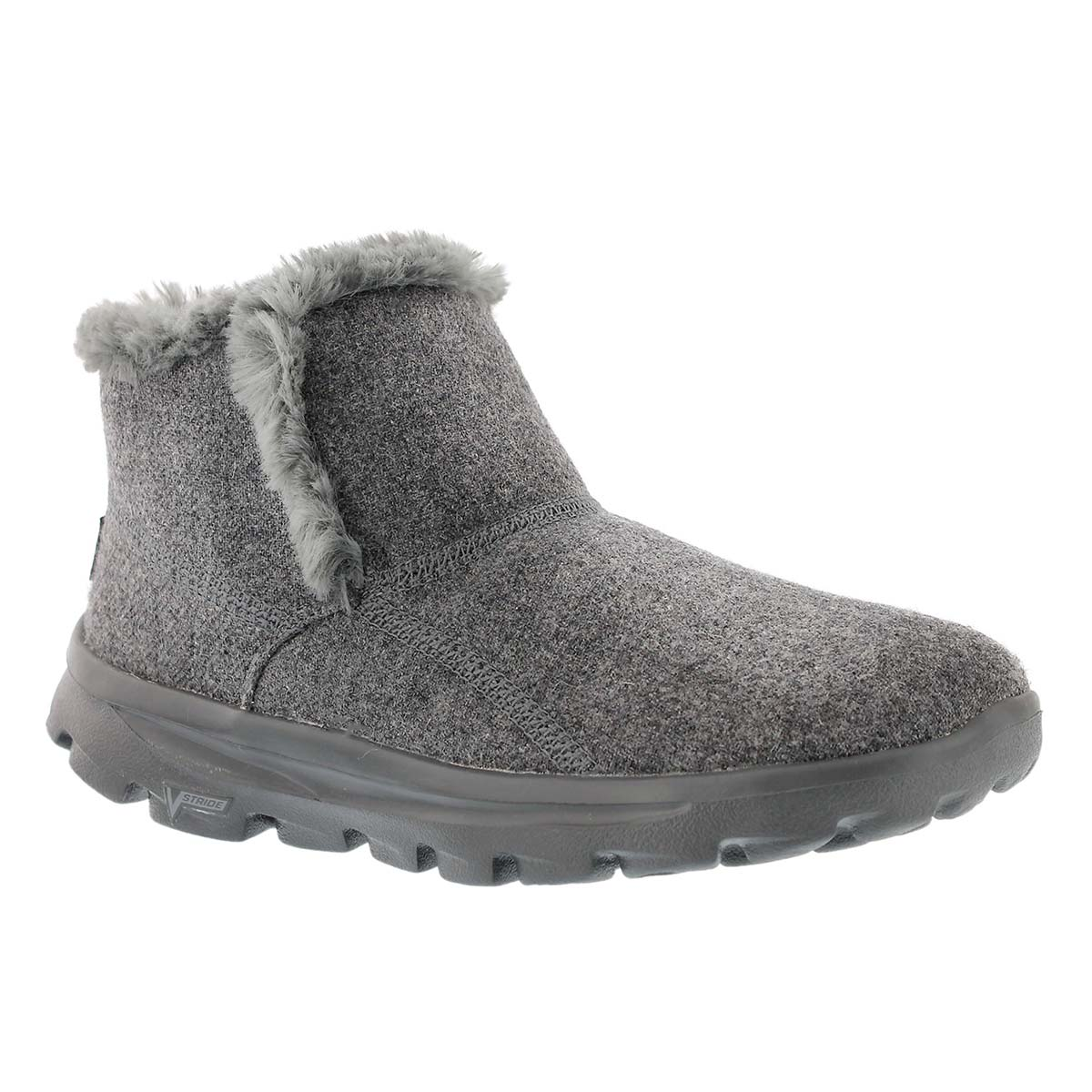 Wome's GOwalk MOVE charcoal chugga bootie