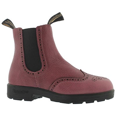 Lds Girlfriend brogue brodo pull on boot