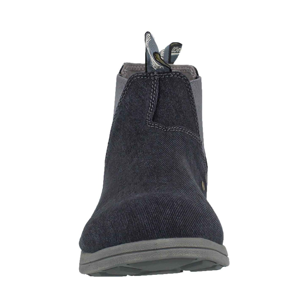 Unisex Canvas denim pull on boot