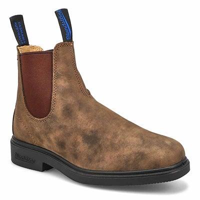 Unisex TheWinterChiselToe brn lined boot