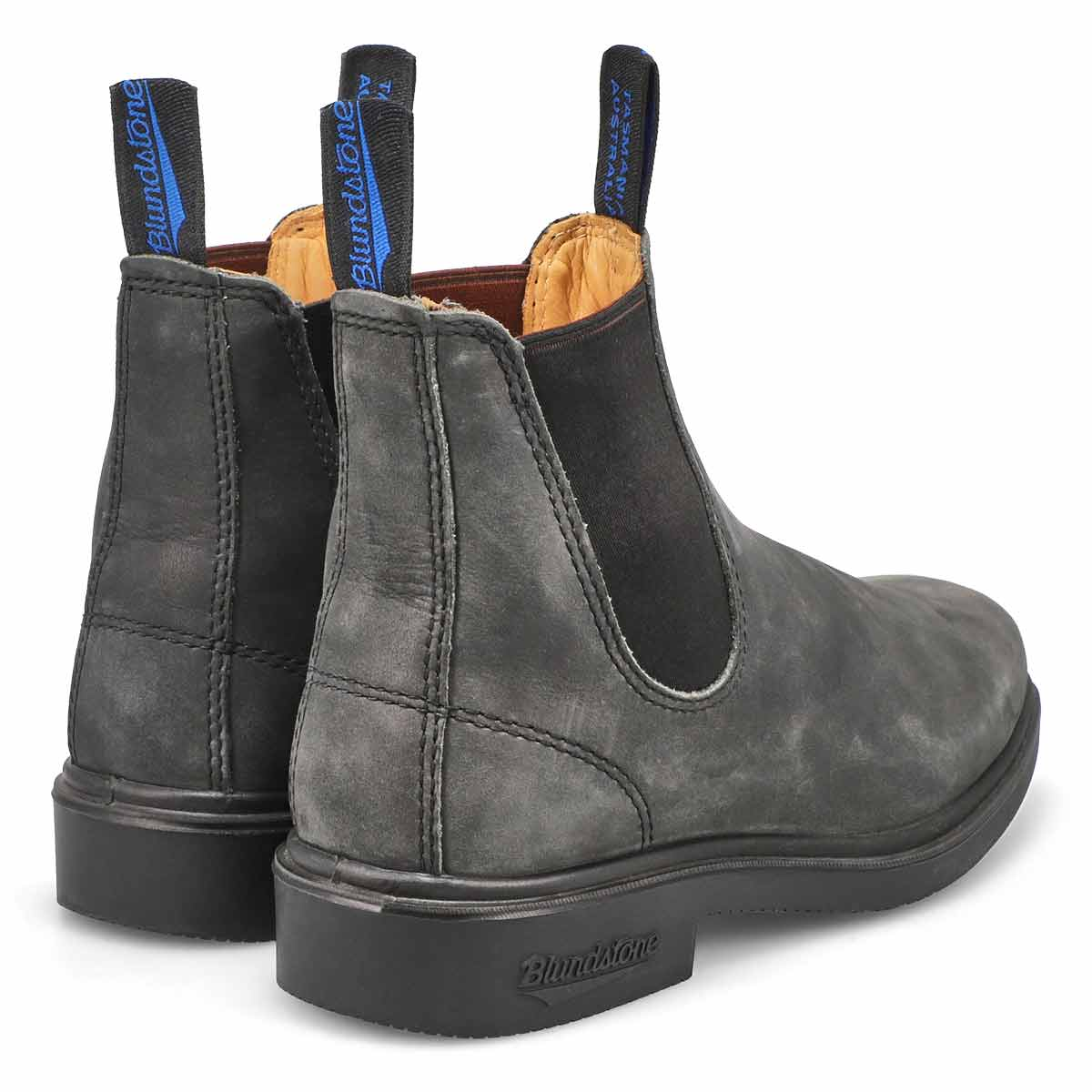Unisex TheWinterChiselToe blk lined boot
