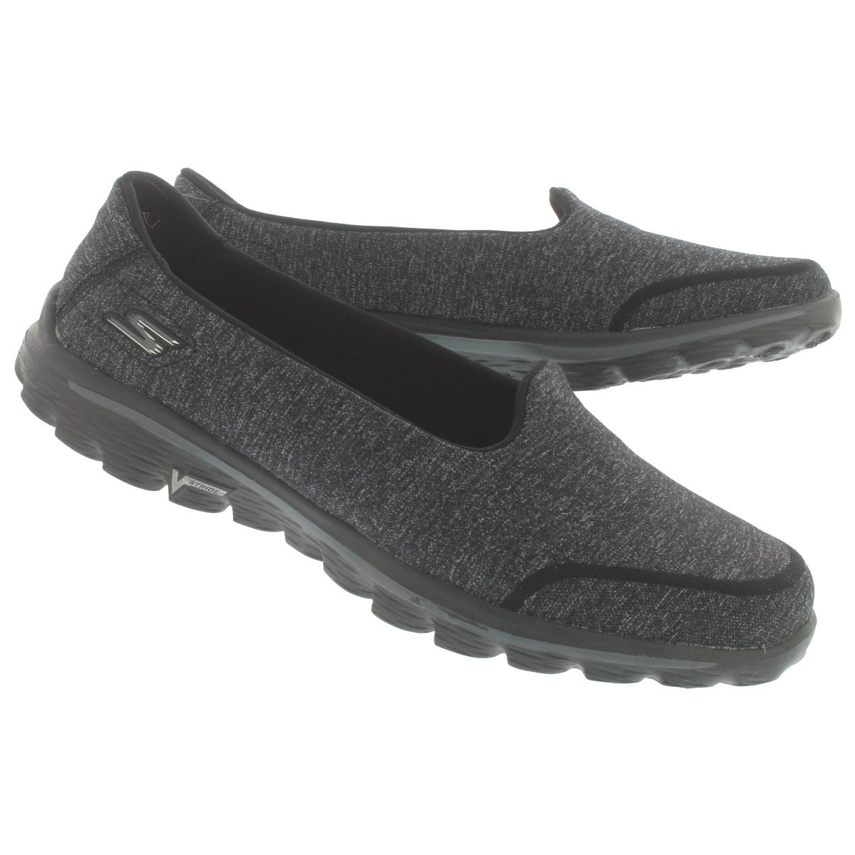 Lds GOwalk 2 Bind blk slipon shoe