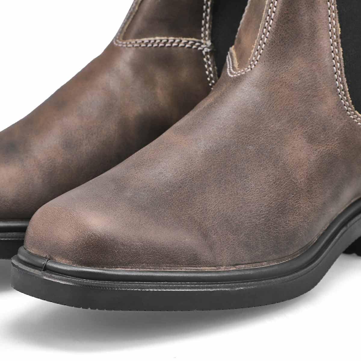 Unisex Chisel Toe grey twin gore boot