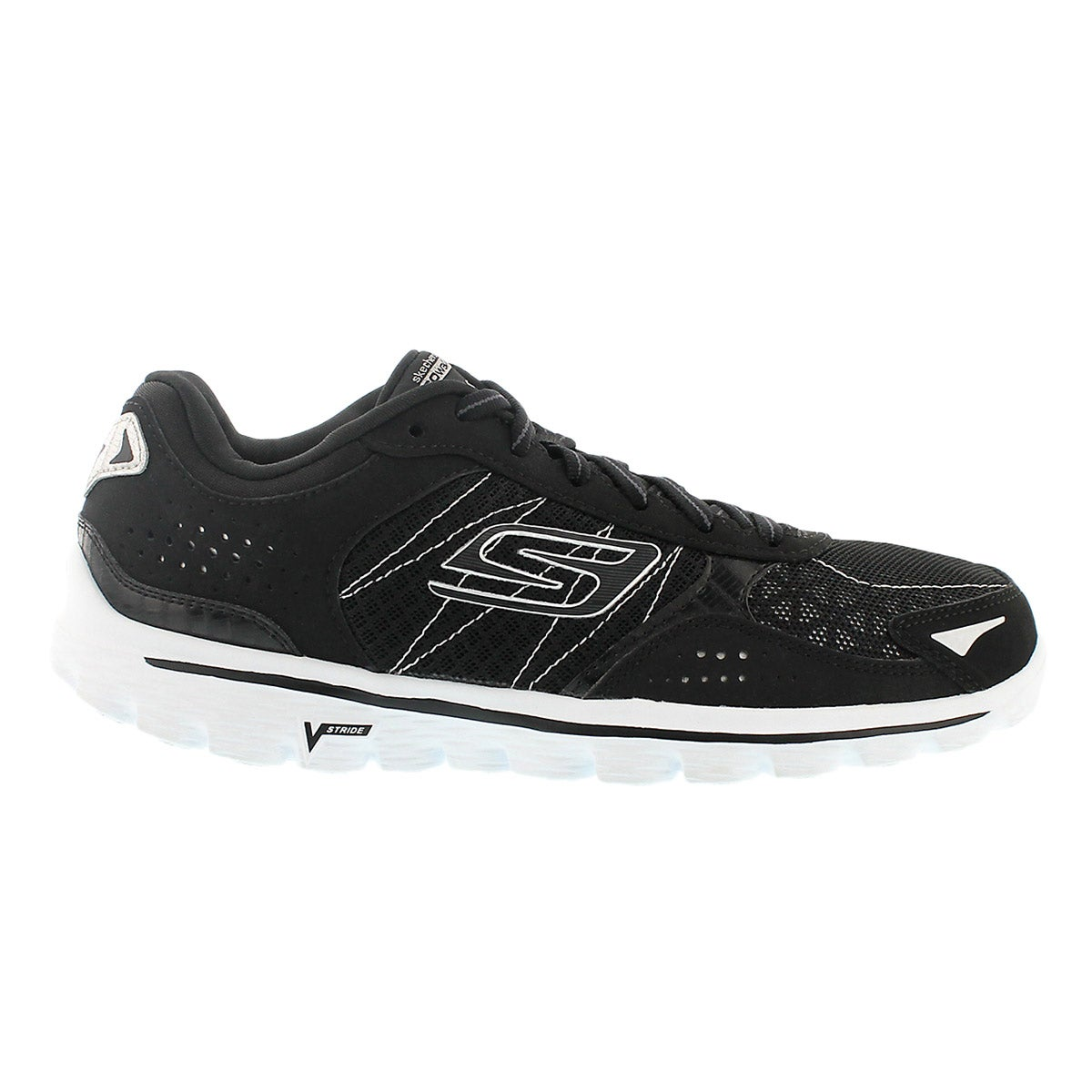 Lds GOwalk 2 Flash blk walking shoe