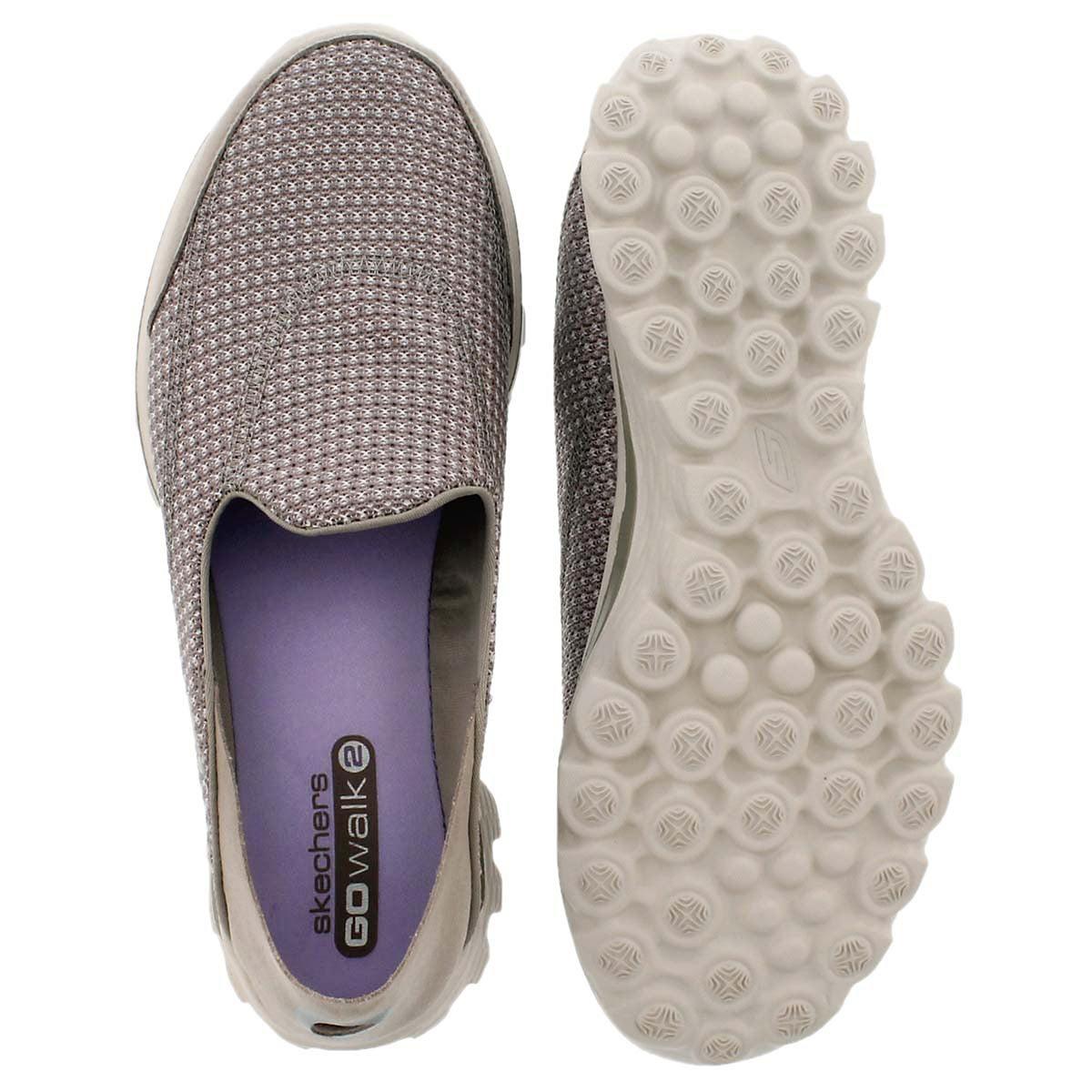 Lds GOwalk Convertible stone slip on