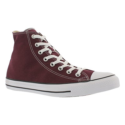 Converse Men's CT ALL STAR CORE HI burgundy sneakers