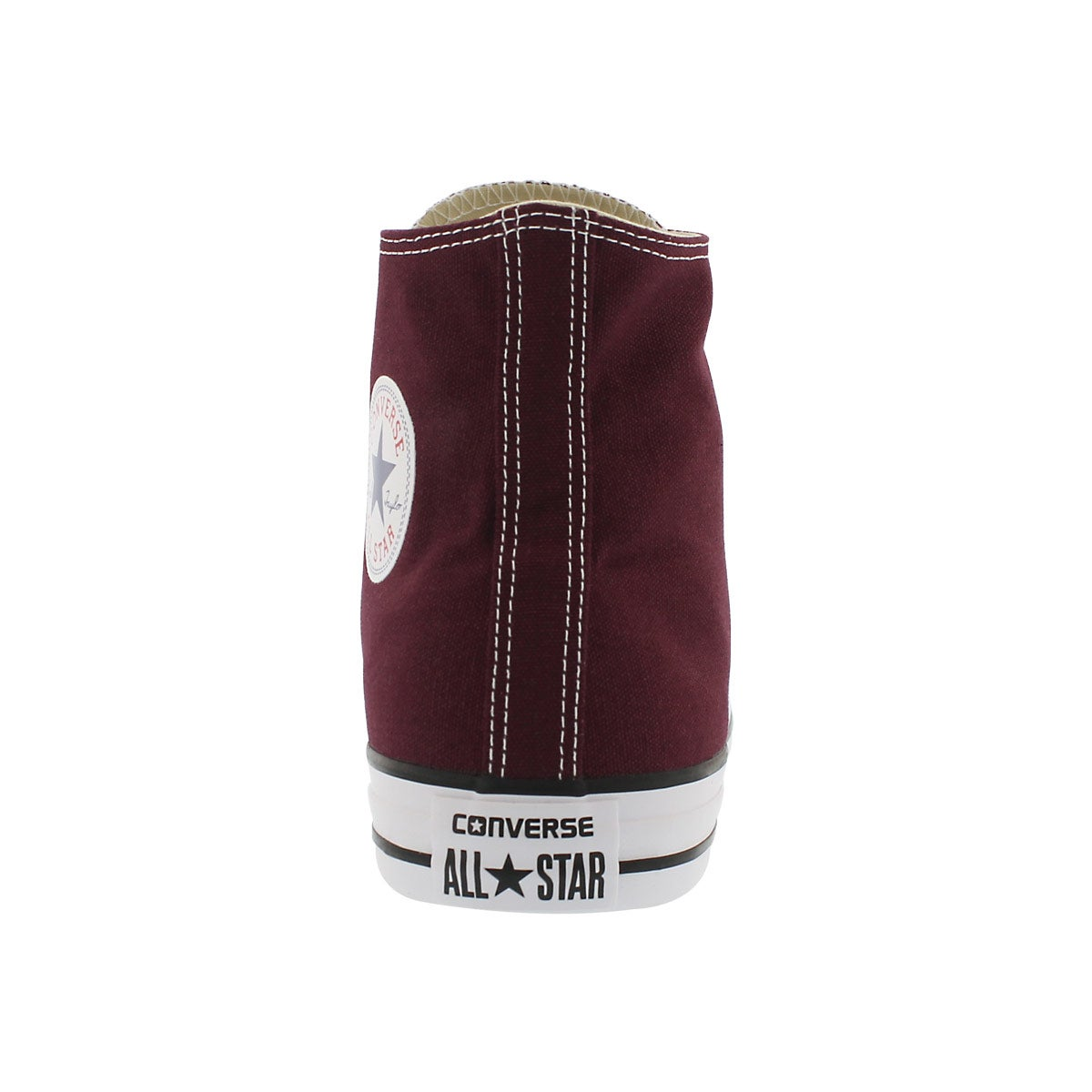 Mns CT All Star Core Hi burgundy sneaker