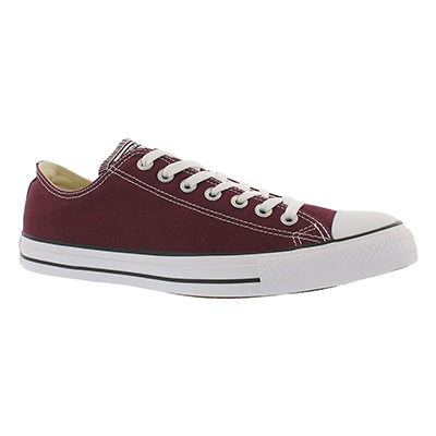 Converse Men's CT ALL STAR CORE OX burgundy sneakers