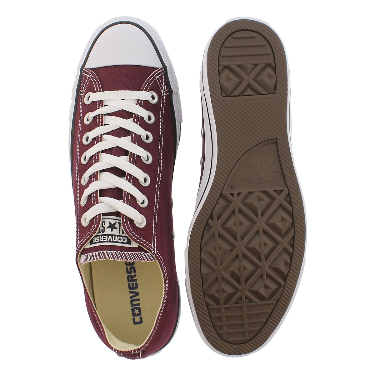 Mns CT All Star Core Ox burgundy sneaker