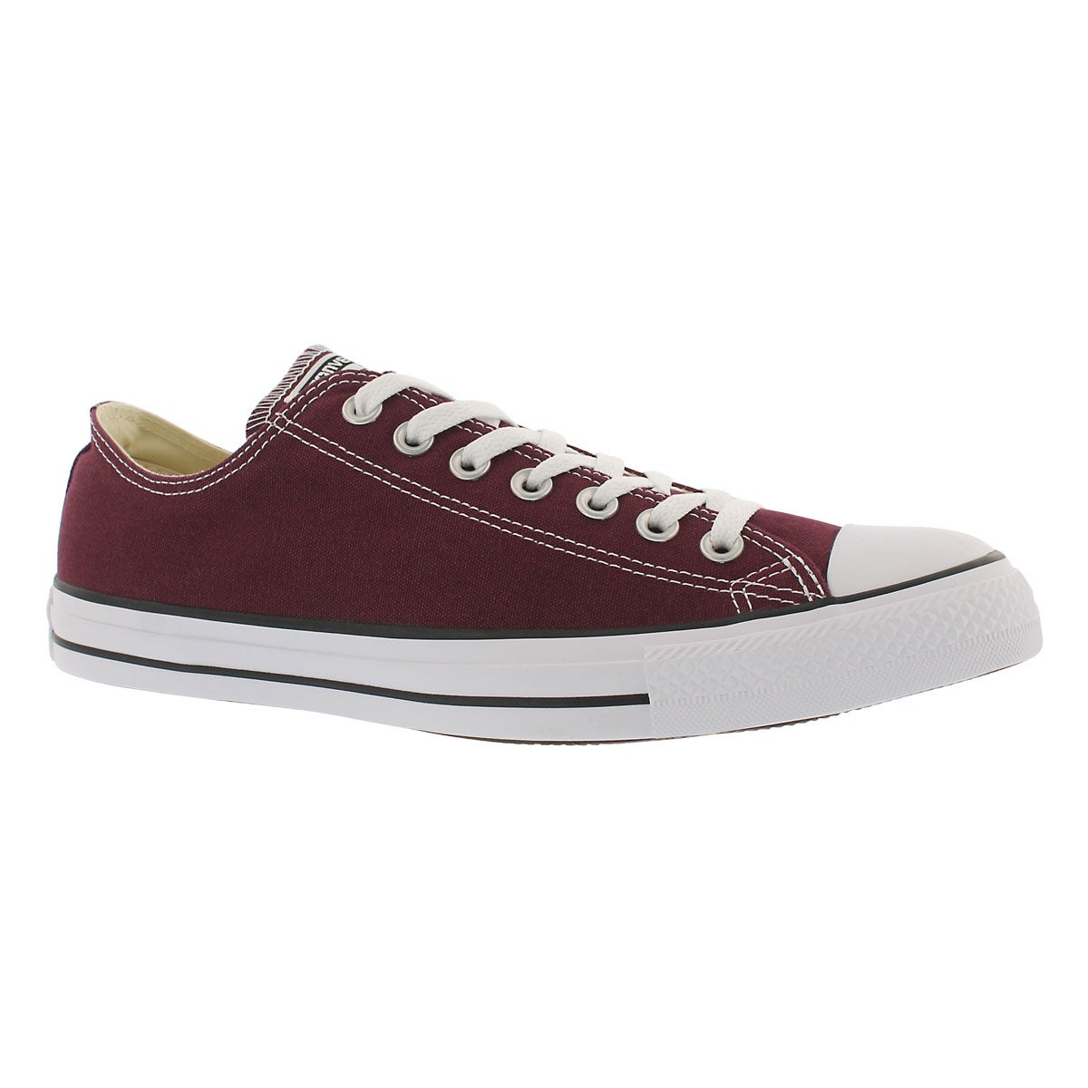 Men's CT ALL STAR CORE OX burgundy sneakers