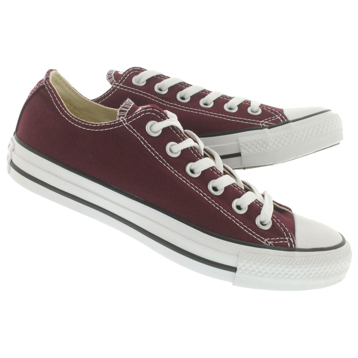 Lds CT All Star Core burgundy sneaker