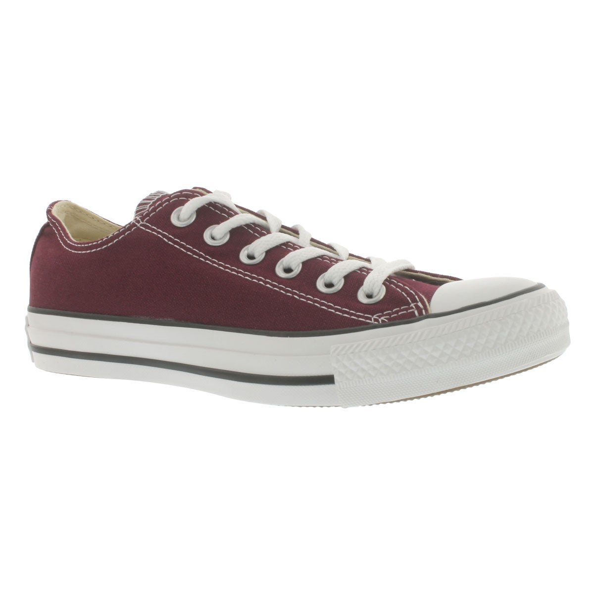 Women's CHUCK TAYLOR ALL STAR burgundy sneakers