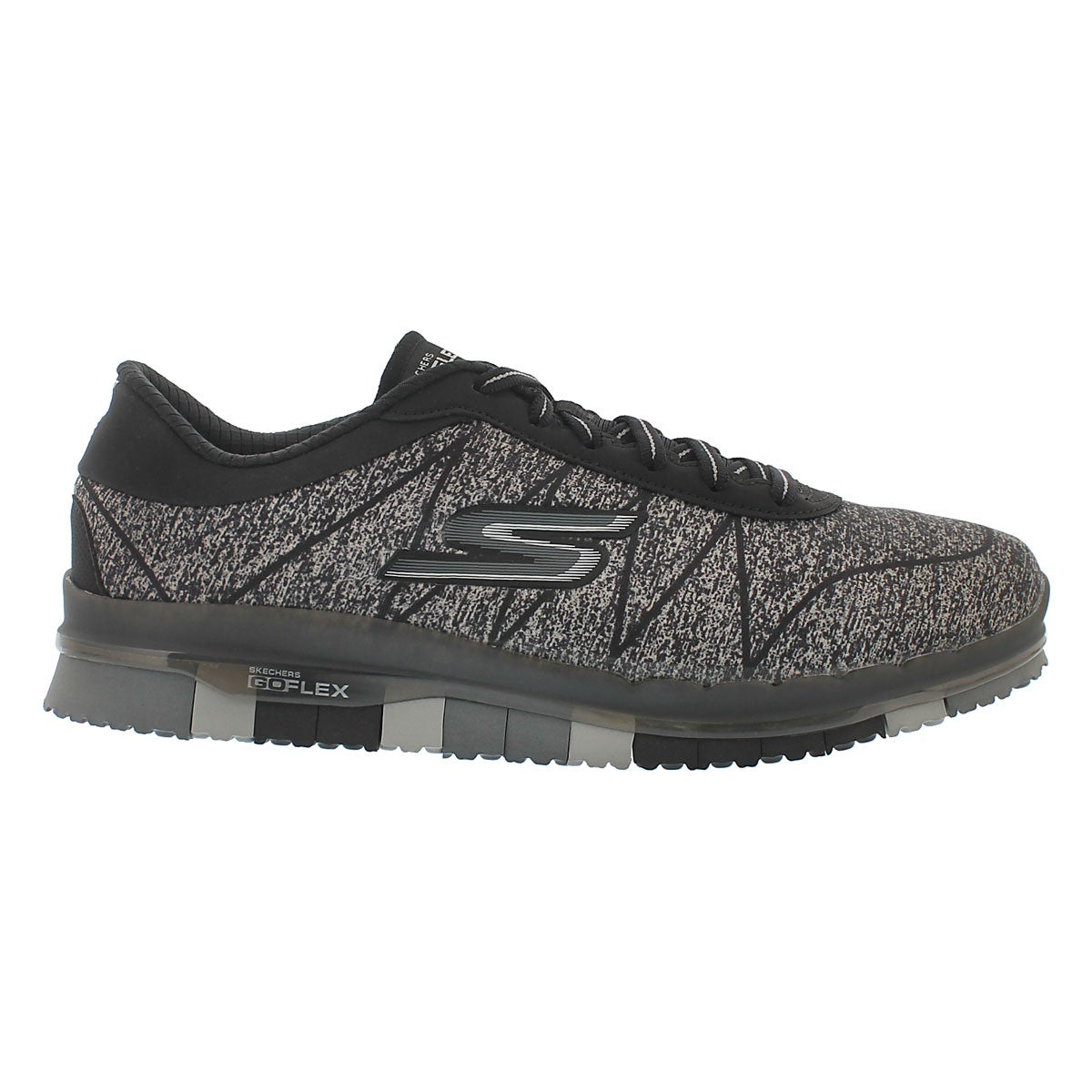 Lds Ability black lace up sneaker