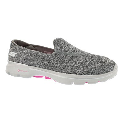 Lds GO Walk 3 Balance gry walking shoe