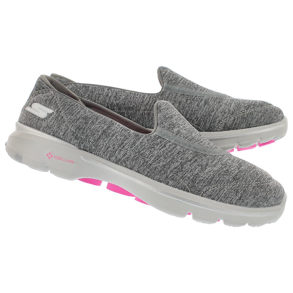 Chaussures GOwalk3 Balance, gris, fem