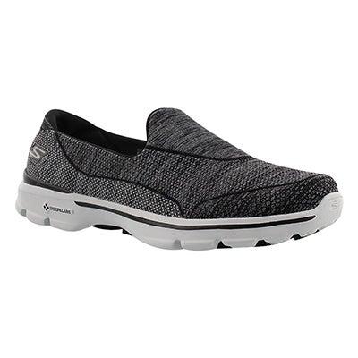 Lds Super Sock 3 blk/gry walking shoe